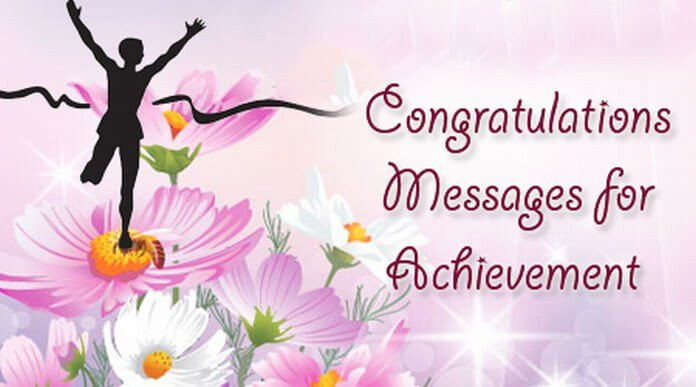 Congratulation Letter On Achievement Congratulations Messages for Achievement