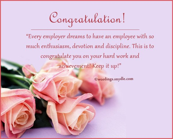 Congratulation Letter On Achievement Congratulations Messages for Achievement Wordings and