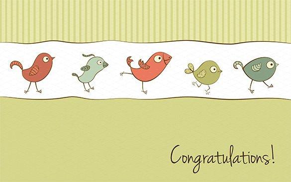 Congratulations Graduation Card Template 11 Congratulations Card Templates Pdf Psd Eps