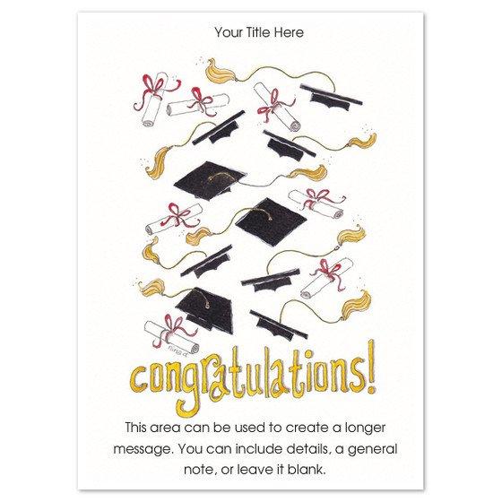 Congratulations Graduation Card Template Congratulations Graduation Card Template
