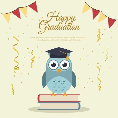 Congratulations Graduation Card Template Happy Graduation Card Template Download Free Vector Art
