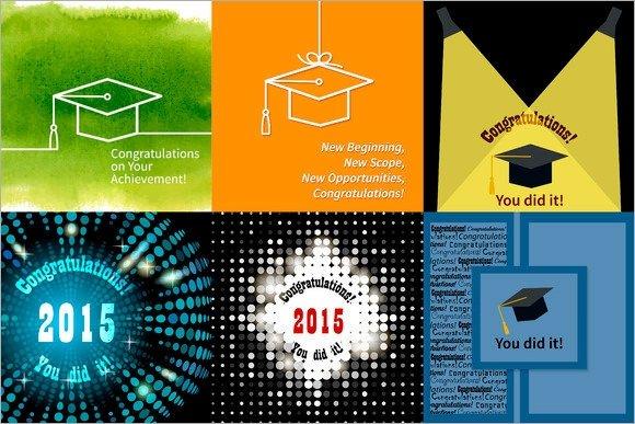 Congratulations Graduation Card Template Sample Graduation Card Template 11 Documents In Psd