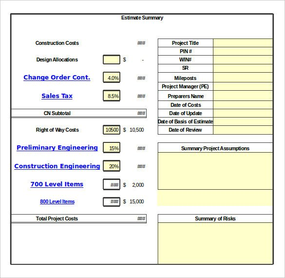 Construction Change order Template Excel 24 Change order Templates Pdf Doc