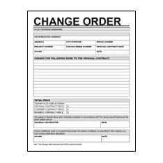 Construction Change order Template Excel Aia G701 Change order form Template for Excel Change