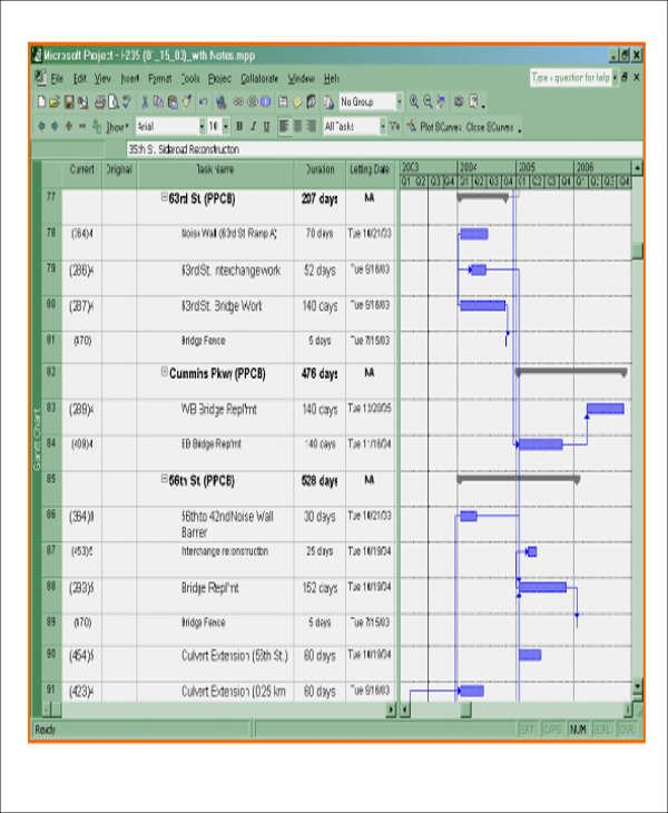 Construction Schedule Template Excel 13 Excel Construction Schedule Templates