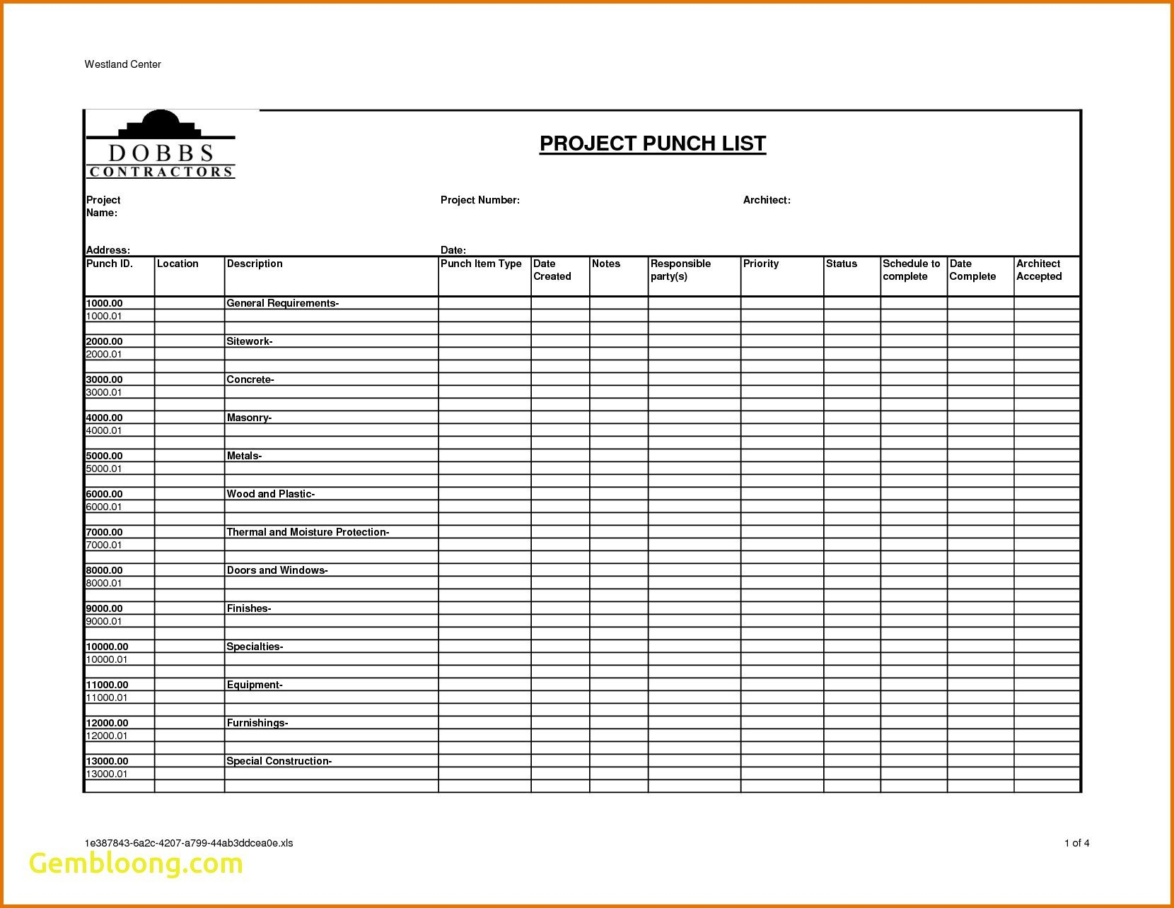 Construction Spec Sheet Template 3 Questions to ask Residential Construction Spec Sheet