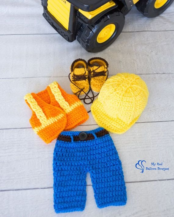 Construction Worker Hat Craft 1000 Images About Crochet Diaper Covers & Sets On