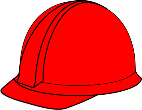 Construction Worker Hat Craft Construction Worker Hat Prop Template