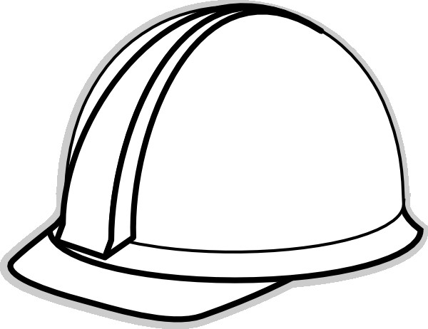 Construction Worker Hat Craft Hard Hat Template for Teacher