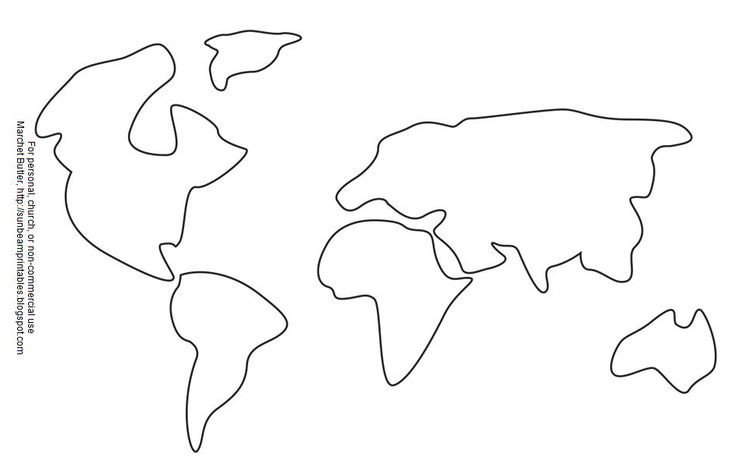 Continent Cutouts for Globe 1000 Images About Geography On Pinterest