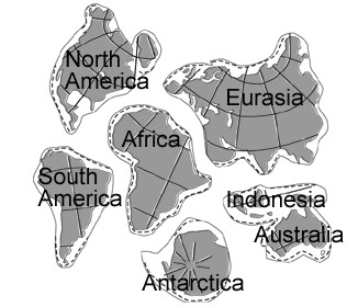 Continent Cutouts for Globe Best S Of Printable for Globe Continent Shapes