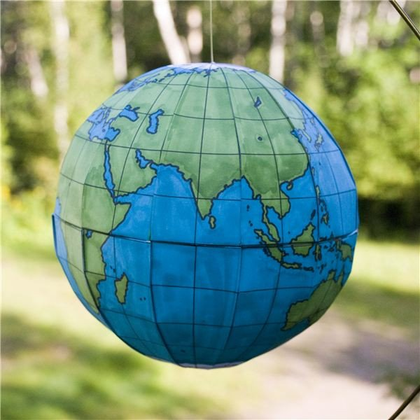 Continent Templates for Globe How to Make A Homemade Globe Using Print and assemble