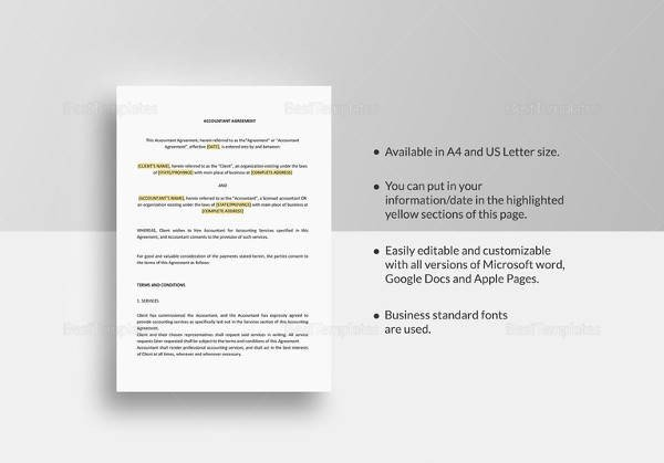Contract Template Google Docs 10 Sample Standard Loan Agreement Templates