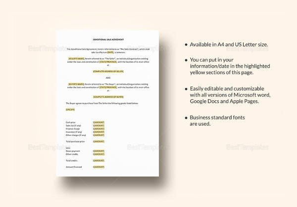 Contract Template Google Docs 11 Vehicle Sales Agreement Samples Free Word Pdf