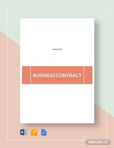 Contract Template Google Docs 117 Free Google Docs Contract Templates