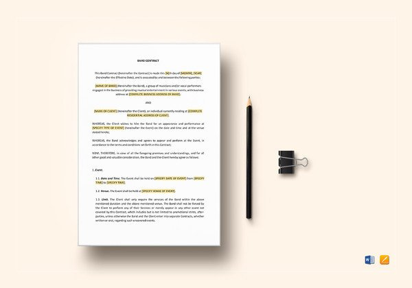 Contract Template Google Docs 8 Sample Coaching Contract Templates Docs Word Pages