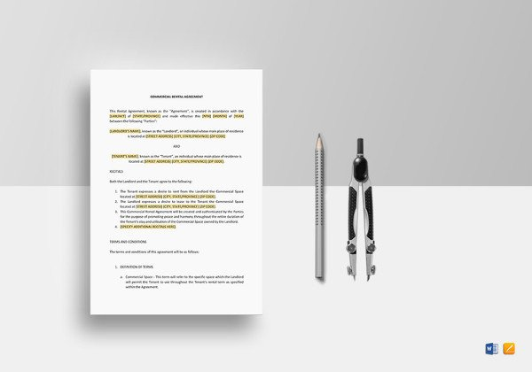 Contract Template Google Docs Rental Agreement Template – 21 Free Word Pdf Documents