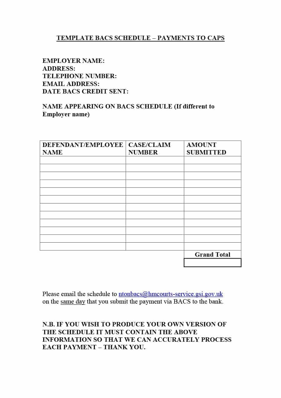 Contractor Payment Schedule Template 33 Great Payment Plan Schedule Templates Template Archive