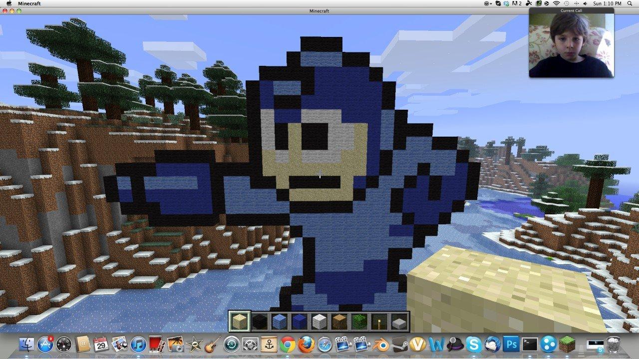 Cool Minecraft Pixel Arts Cool Pixel Art Minecraft Project