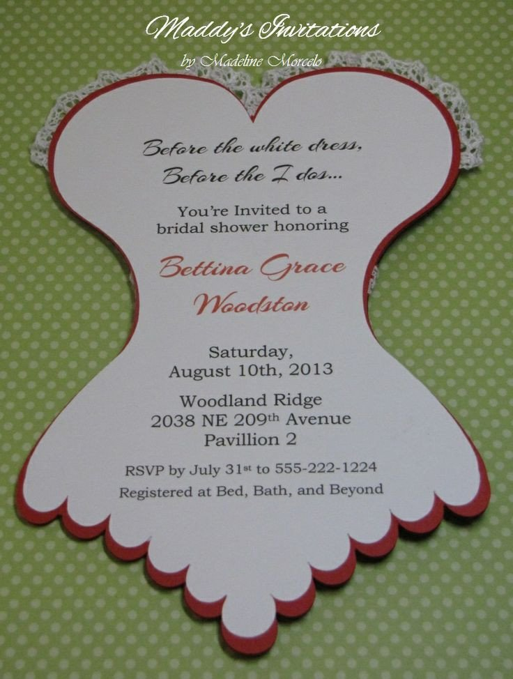 Corset Invitation Template Free Corset Invitations Bridal Shower