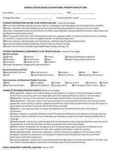 Counseling Treatment Plan Template Treatment Plan Review