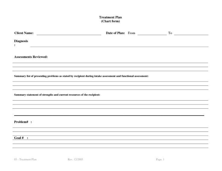 Counseling Treatment Plan Template Treatment Plan Template Bm4ucntx therapy