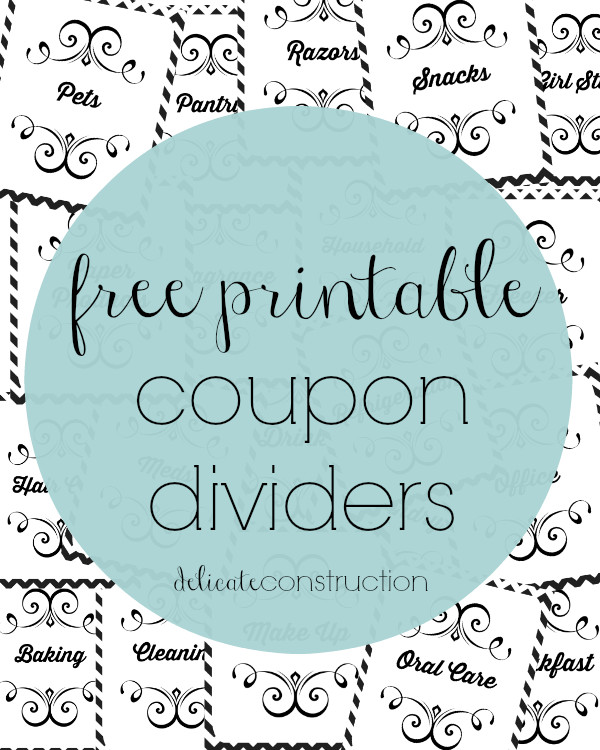 Coupon Binder Categories Template Hey All I Am Working On My Coupon Binder and something