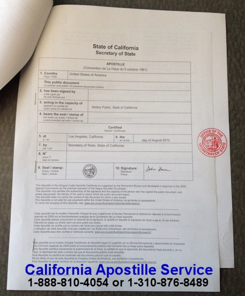 Cover Letter for Apostille Example What is A California Apostille — Losangelesapostille