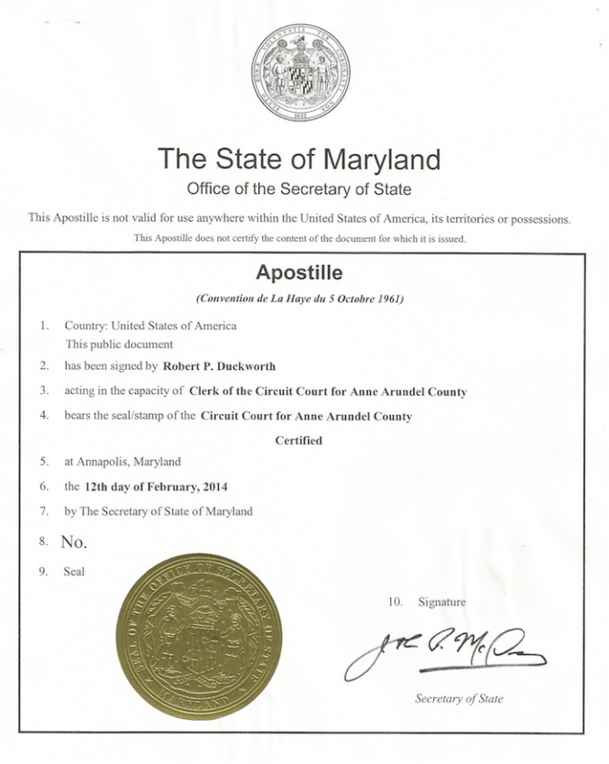 Cover Letter for Apostille Example What is An Apostille