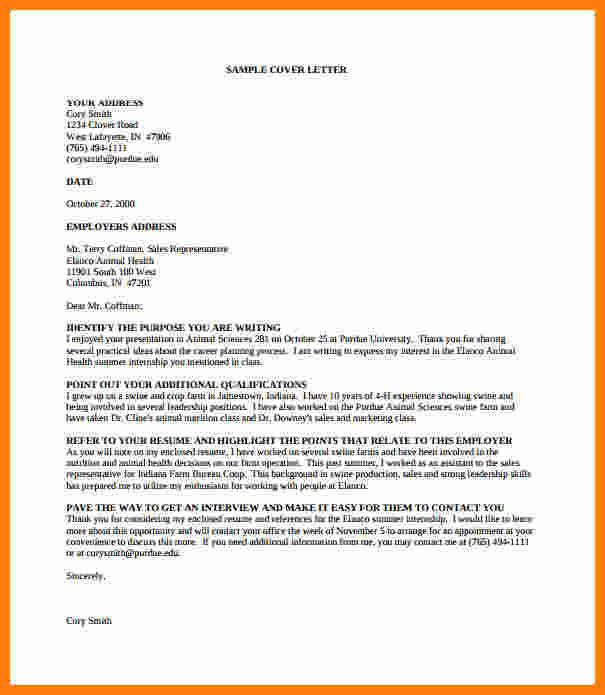 Cover Letter Template Pdf 12 Cv Letter Sample Pdf