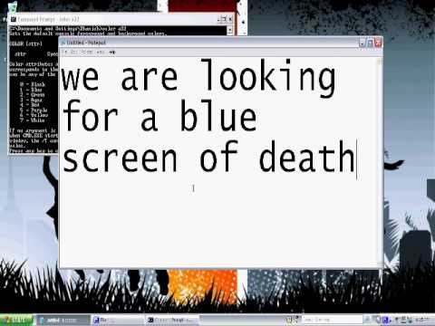 Create A Fake Obituary How to Make A Fake Blue Screen Of Easy Tutorial