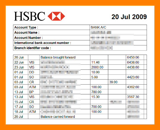 Create Fake Bank Statement Template 11 How to Make Bank Statement