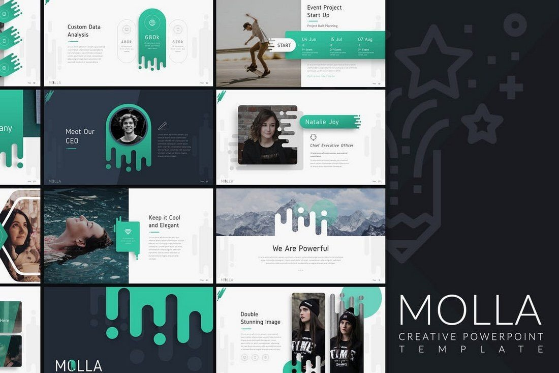 Creative Powerpoint Templates Free 50 Best Powerpoint Templates Of 2019