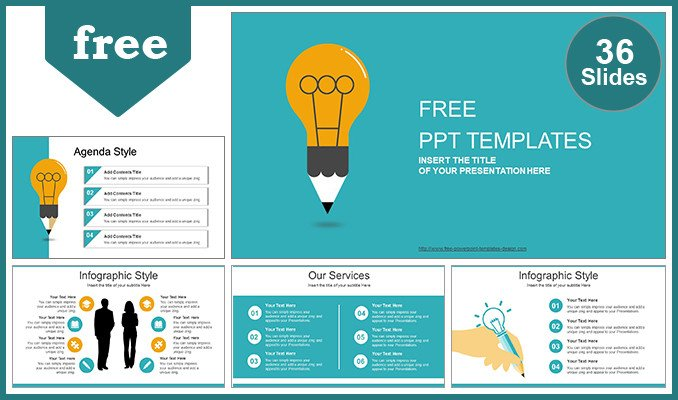 Creative Powerpoint Templates Free Download Creative Idea Bulb Powerpoint Template
