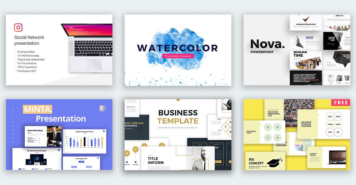 Creative Powerpoint Templates Free Download Powerpointify Download Free Presentation Templates for