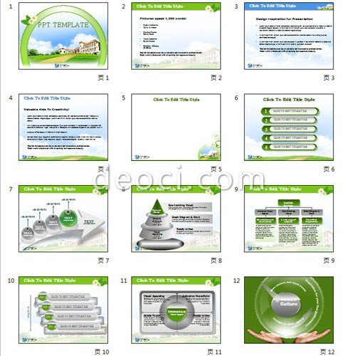 Creative Powerpoint Templates Free Free Fresh Green Korean Style School Education Creative