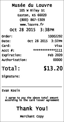 Credit Card Receipt Template Credit Card Receipts