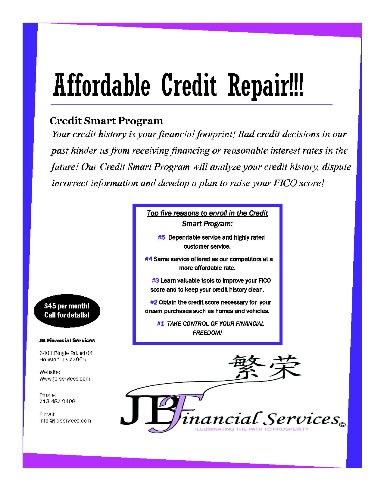 Credit Repair Flyer Template Credit Repair Flyer Google Search