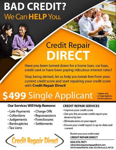 Credit Repair Flyer Template Credit Repair Flyer Jessica Randall