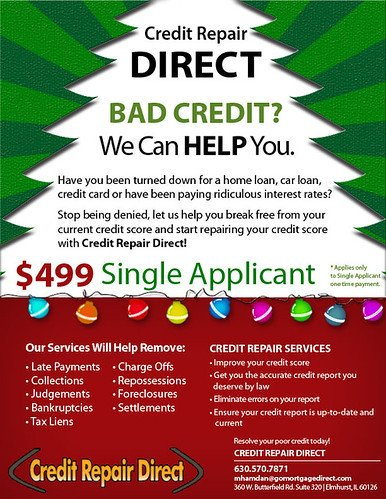 Credit Repair Flyer Template Mosoklali Credit Repair Flyer