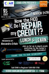 Credit Repair Flyer Template Ypn Credit Repair Class