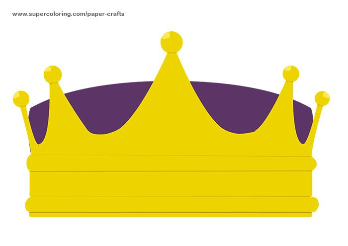 Crown Template for King Crown Printable Template