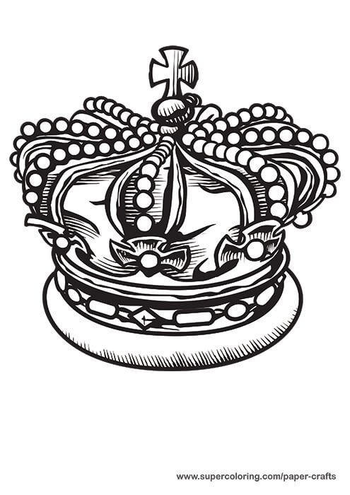 Crown Template for King King Crown Printable Template