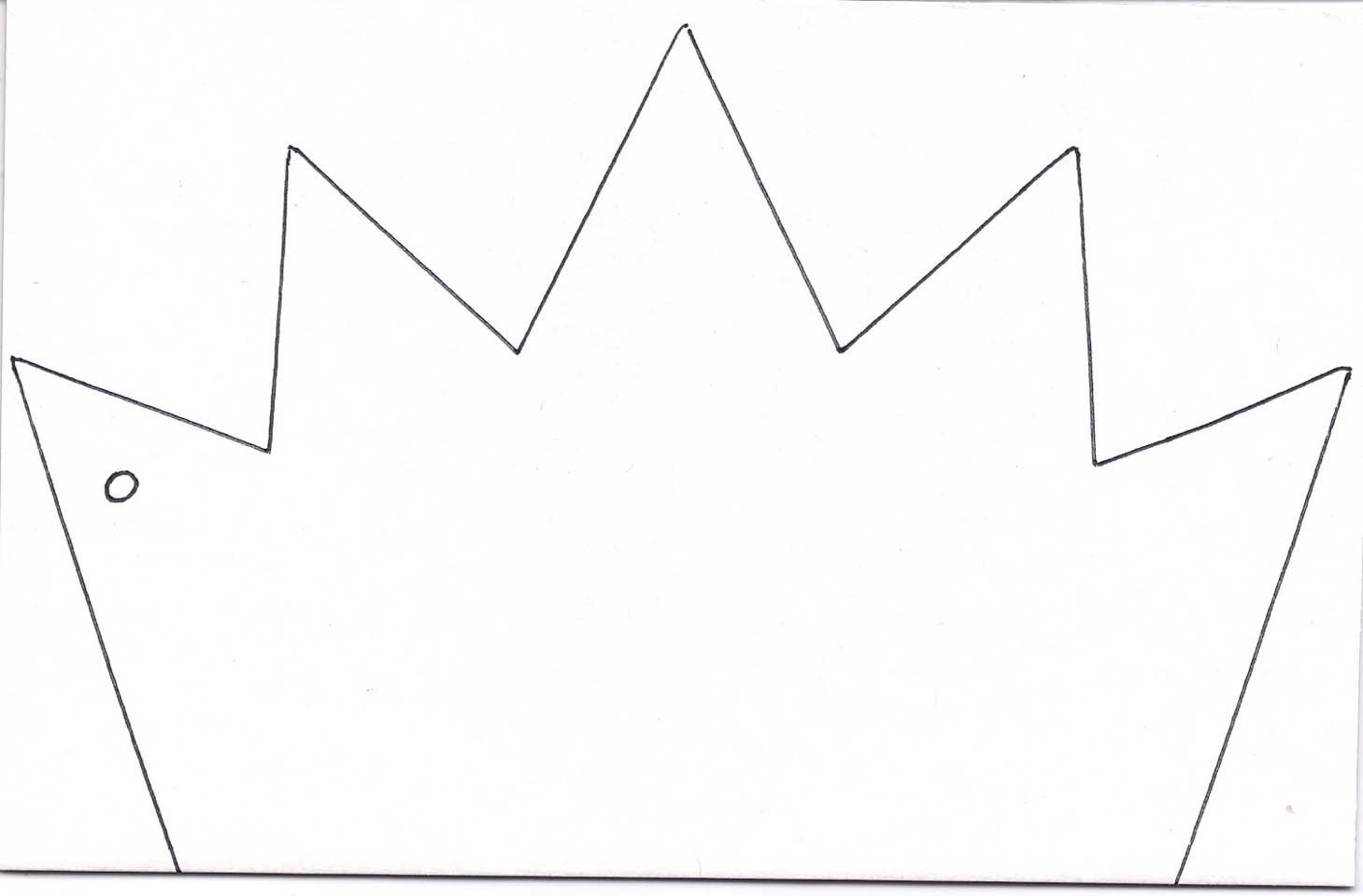 Crown Template for King Kings Crown Template Clipart Best