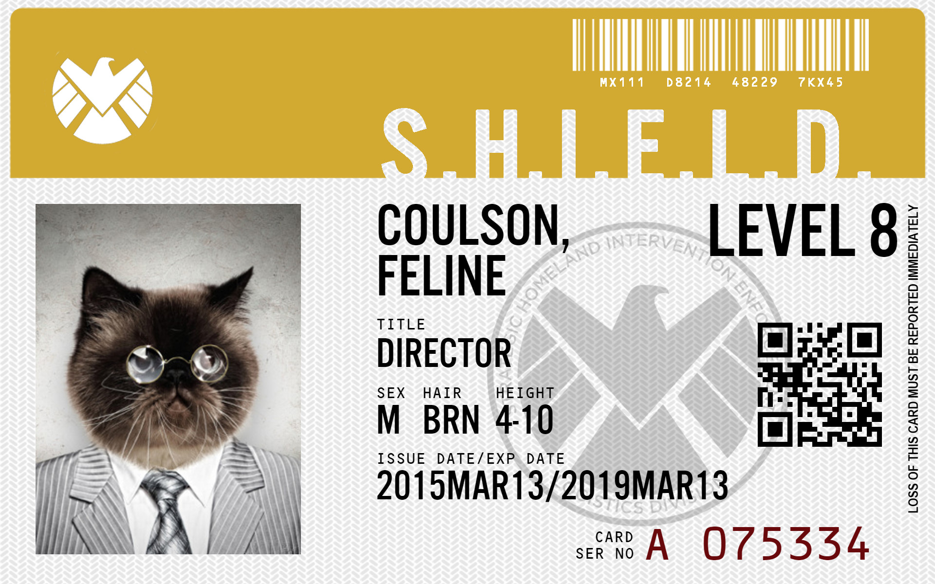 Csi Badge Template Agents Of Shield Id Maker Create Your Own Id Card or Badge