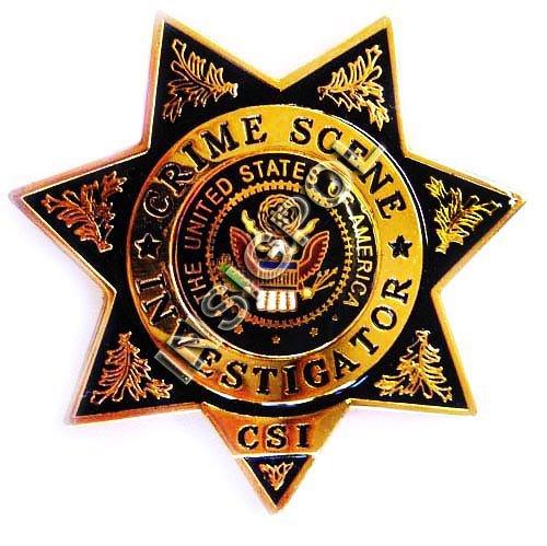 Csi Badge Template Csi Badge
