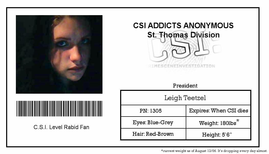 Csi Badge Template Csi Identification by Ryvir On Deviantart