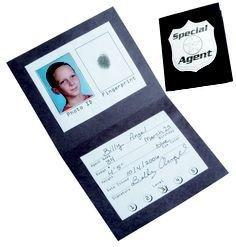 Csi Badge Template Detective Badge Template