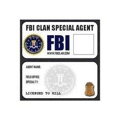 Csi Badge Template Template for Badge