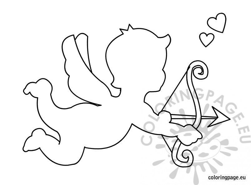 Cupid Template Printable Cupid Template Printable – Coloring Page